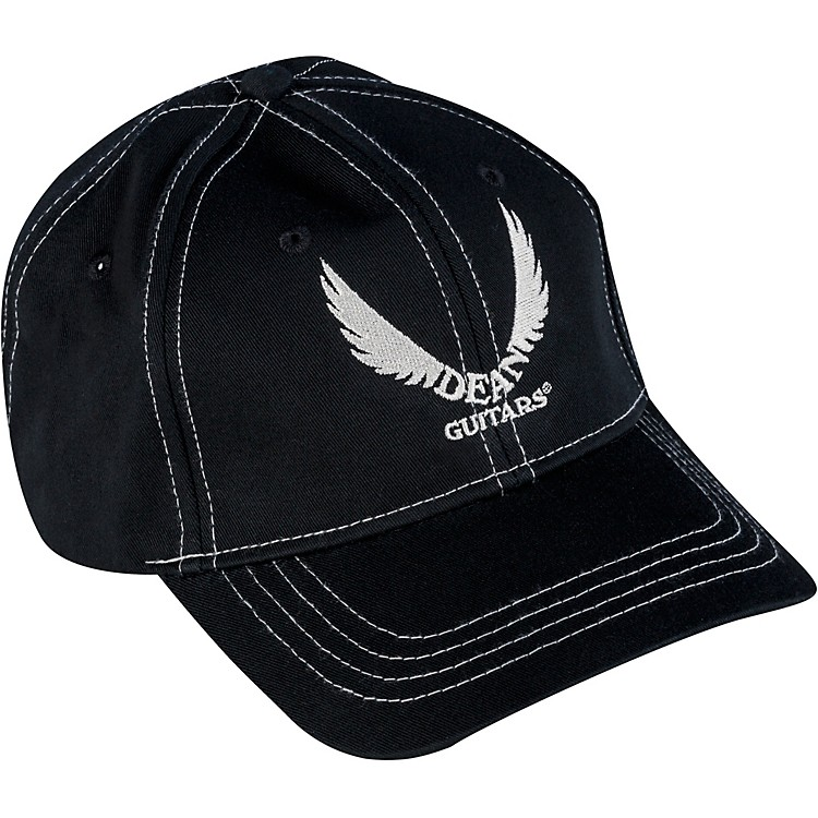 Dean Wings Logo Hat Black