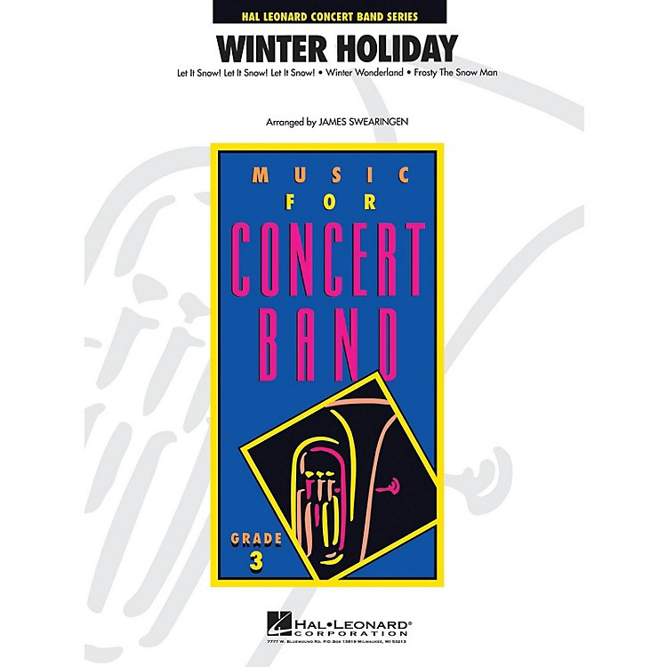 Hal LeonardWinter Holiday - Young Concert Band Level 3 by James Swearingen