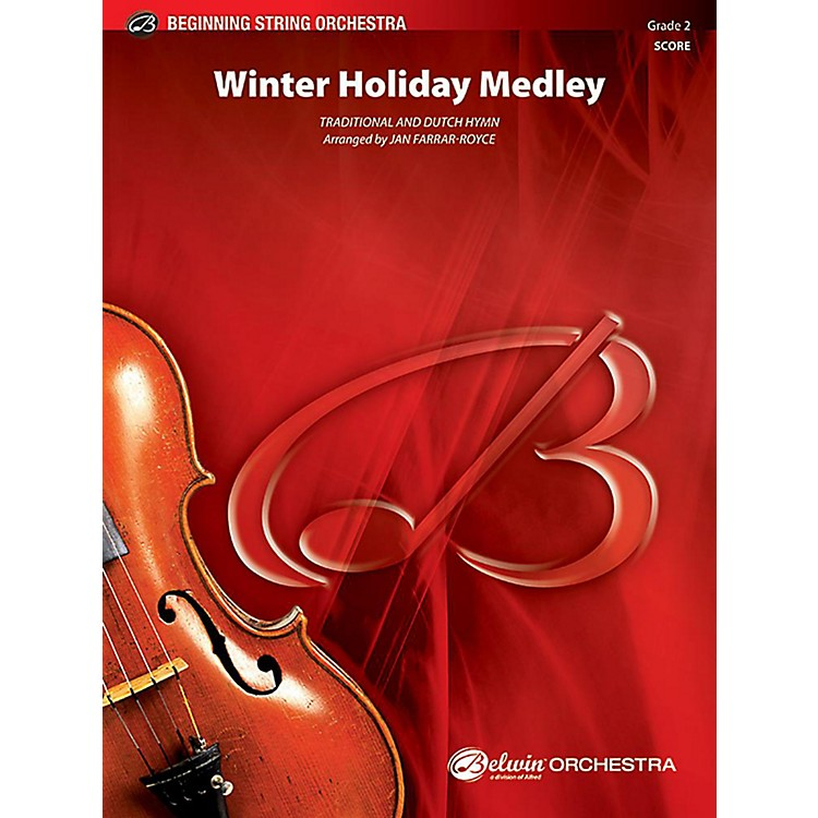 Alfred Winter Holiday Medley String Orchestra Grade 2 Set