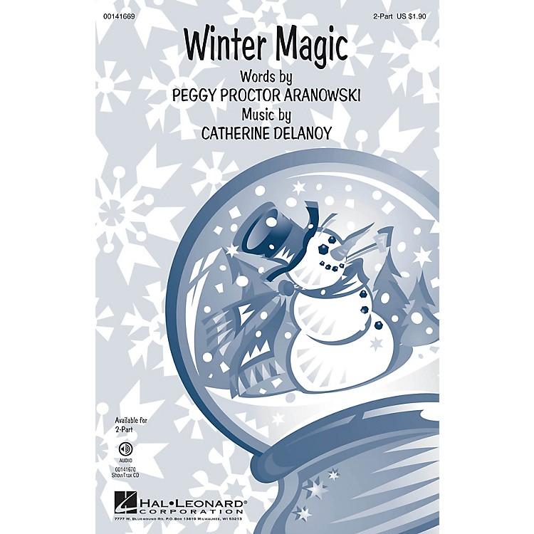 Hal LeonardWinter Magic 2-Part composed by Catherine DeLanoy