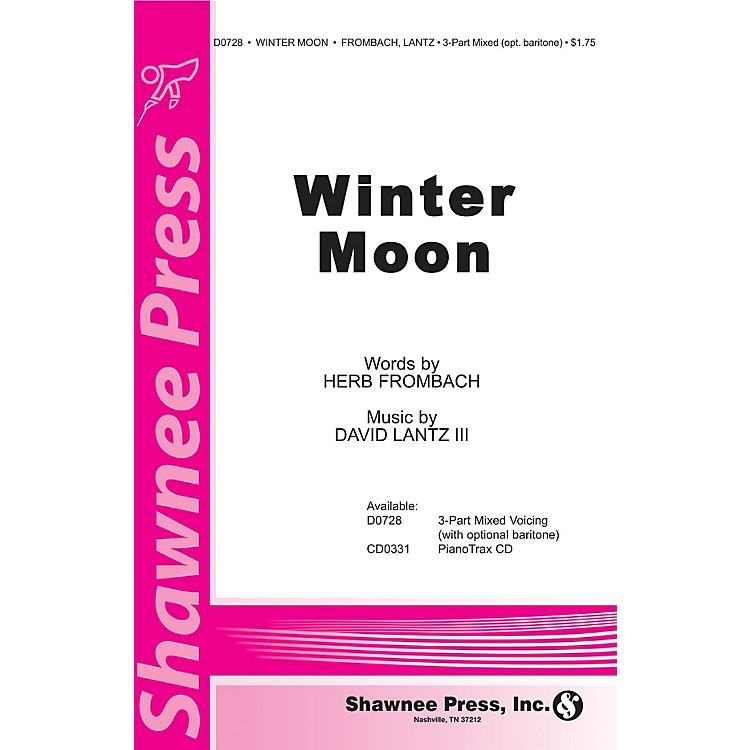 Shawnee PressWinter Moon 3-Part Mixed composed by David Lantz III