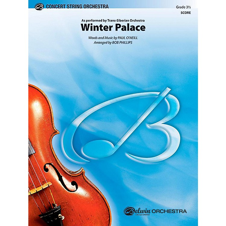 Alfred Winter Palace String Orchestra Level 3.5 Set