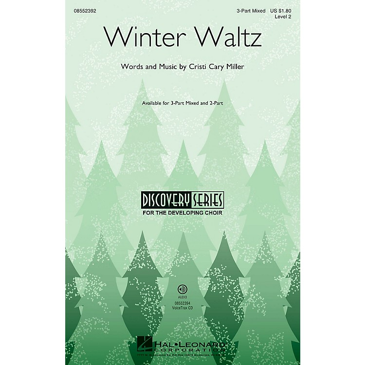 Hal LeonardWinter Waltz (Discovery Level 2) VoiceTrax CD Composed by Cristi Cary Miller