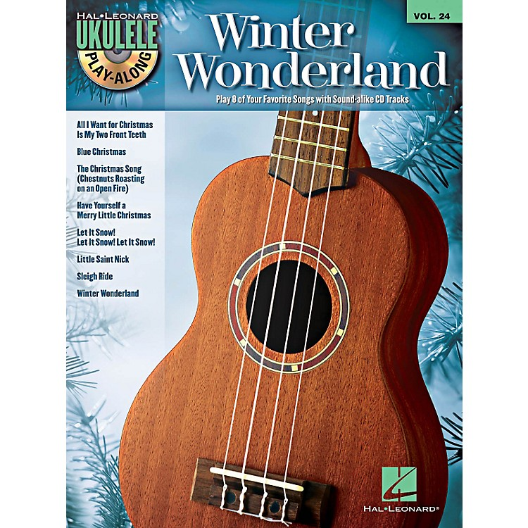Hal LeonardWinter Wonderland - Ukulele Play-Along Volume 24 Book/CD