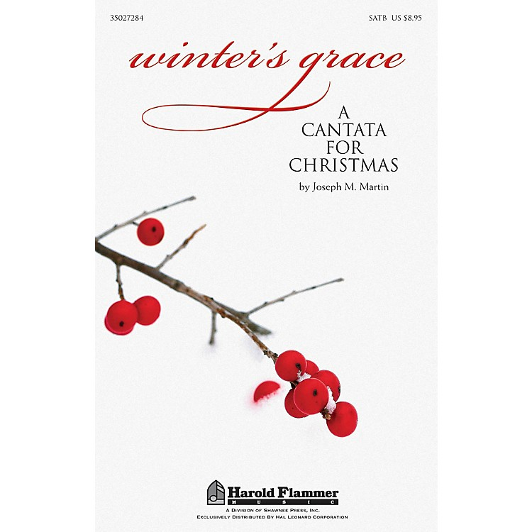 Shawnee Press Winter's Grace (Christmas Cantata) ORCHESTRATION ON CD-ROM Composed by Joseph M. Martin