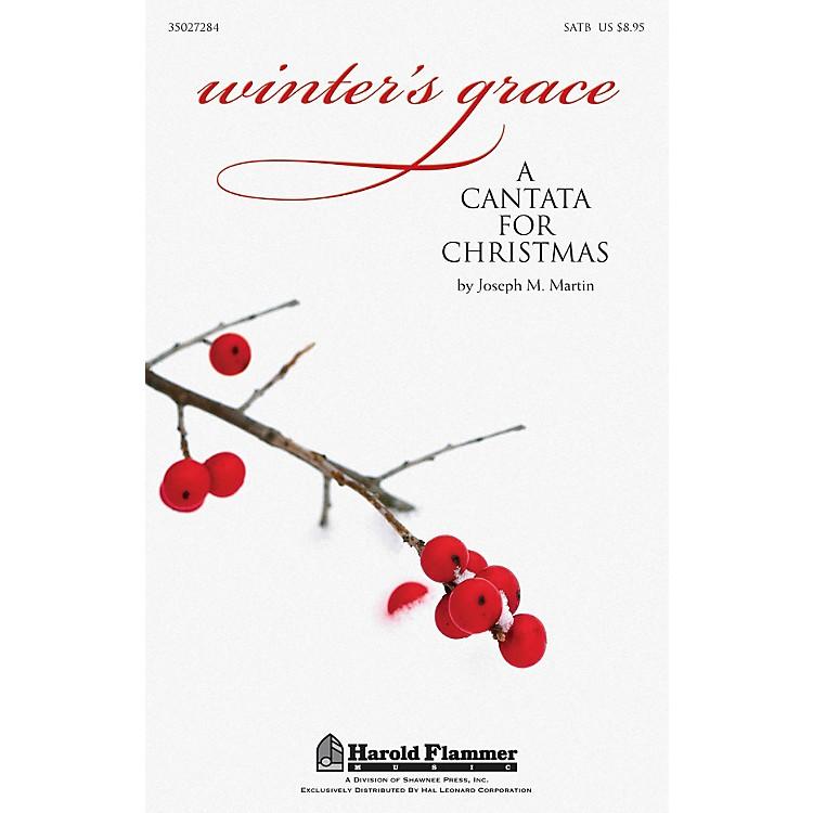 Shawnee PressWinter's Grace (Christmas Cantata) SATB composed by Joseph M. Martin