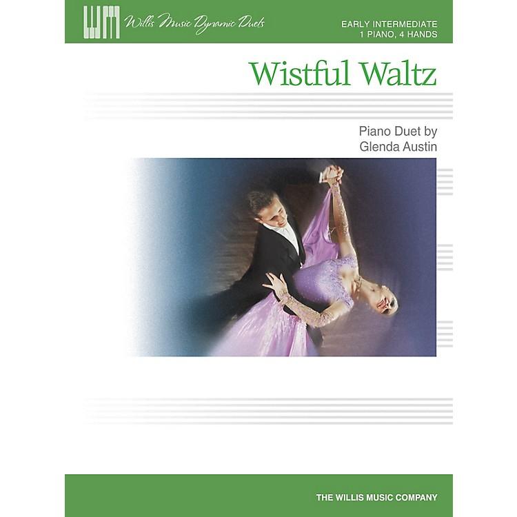 Willis MusicWistful Waltz (1 Piano, 4 Hands Early Inter Level) Willis Series by Glenda Austin