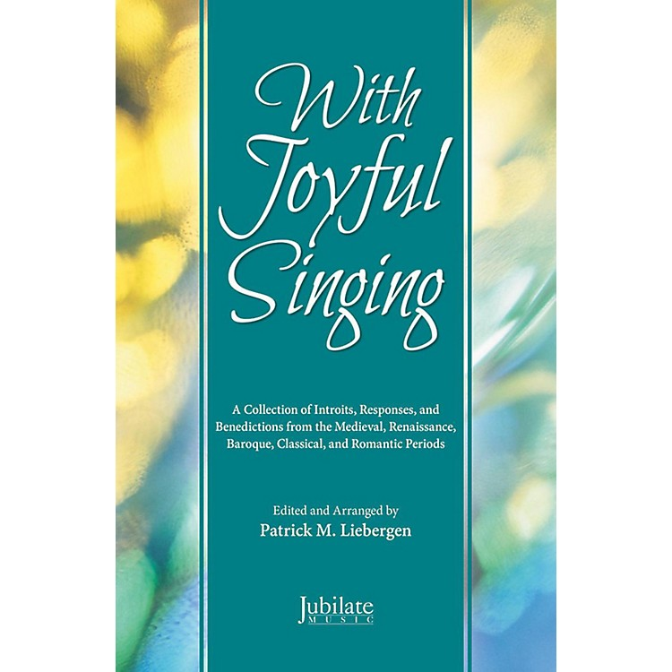 JUBILATE With Joyful Singing - Listening CD