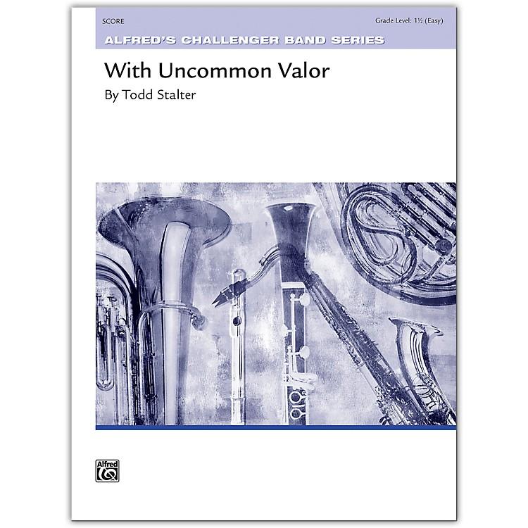 AlfredWith Uncommon Valor Conductor Score 1.5 (Easy)