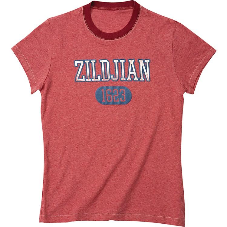 ZildjianWomen's 1623 T-ShirtSoft Faded RedX-Large
