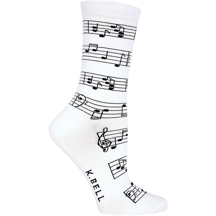 K. BellWomen's Making Music Crew Socks