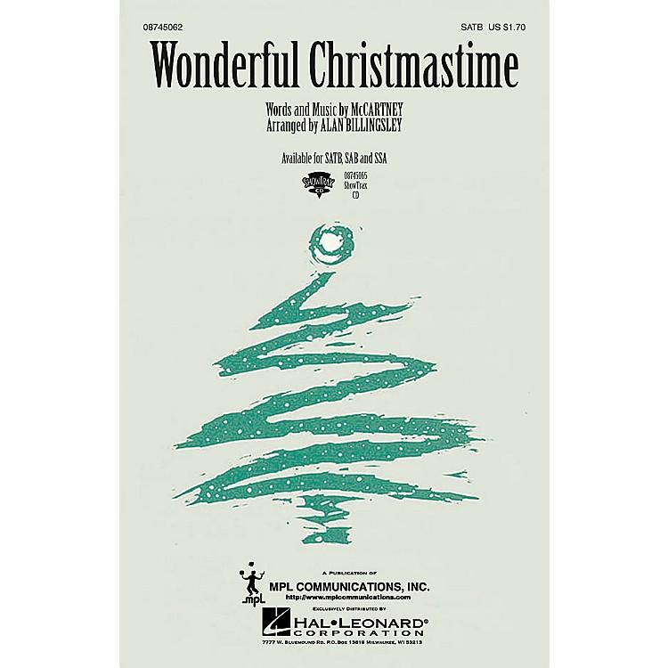Hal LeonardWonderful Christmastime SAB by Paul McCartney Arranged by Alan Billingsley
