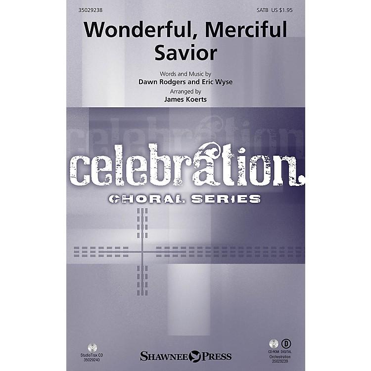 Shawnee PressWonderful, Merciful Savior Studiotrax CD Arranged by James Koerts