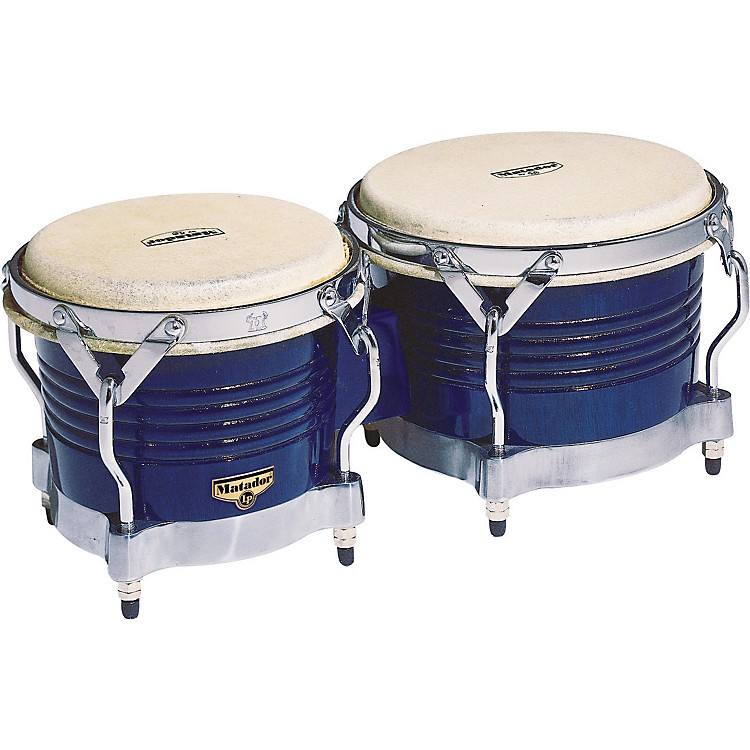 Matador Wood Bongos Royal Blue