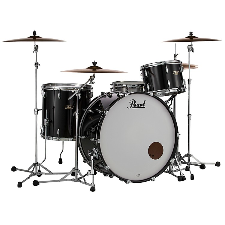 Pearl Wood Fiberglass 3-Piece Shell Pack Platinum Mist