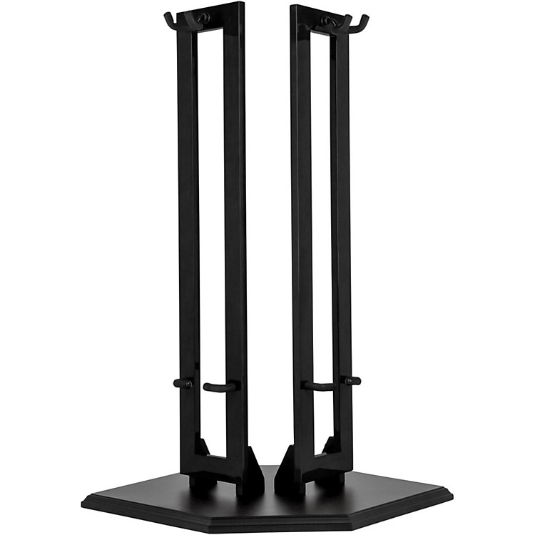 Fender Wood Hanging Double Guitar Stand Black