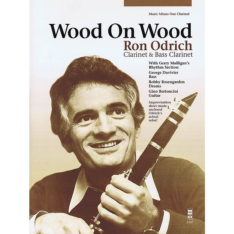 Music Minus OneWood on Wood Music Minus One Series BK/CD Performed by Ron Odrich