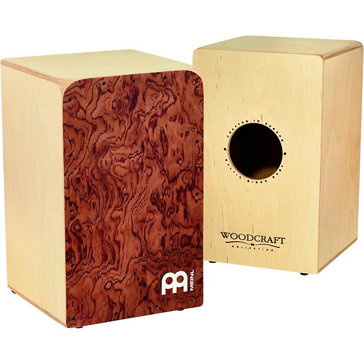 Meinl Woodcraft Collection Snare Cajon Bubinga Frontplate Medium