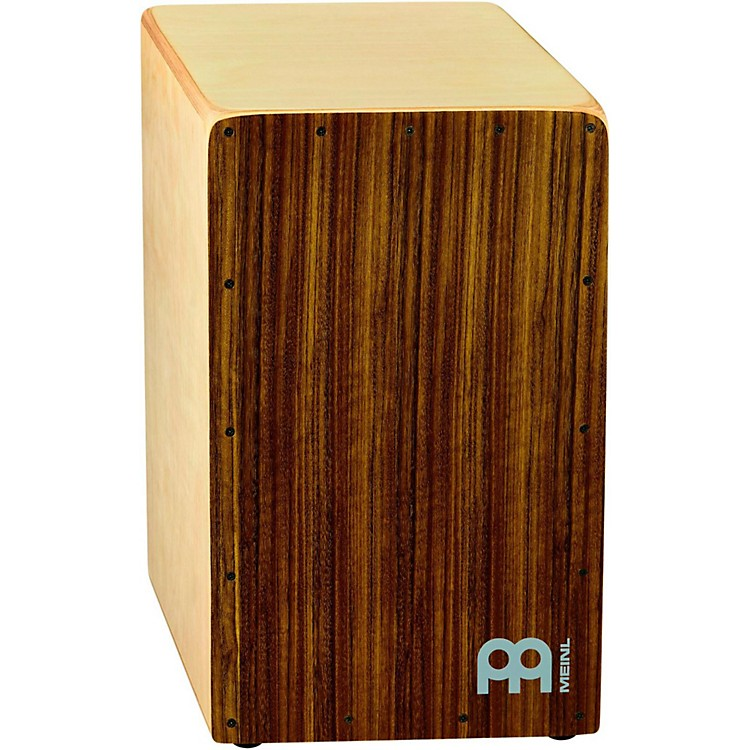 Meinl Woodcraft Collection Snare Cajon Ovangkol Frontplate Medium