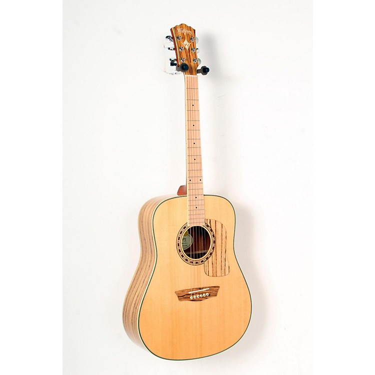 Washburn Woodcraft Series WCSD30S Dreadnought Acoustic Guitar Natural 888365798998