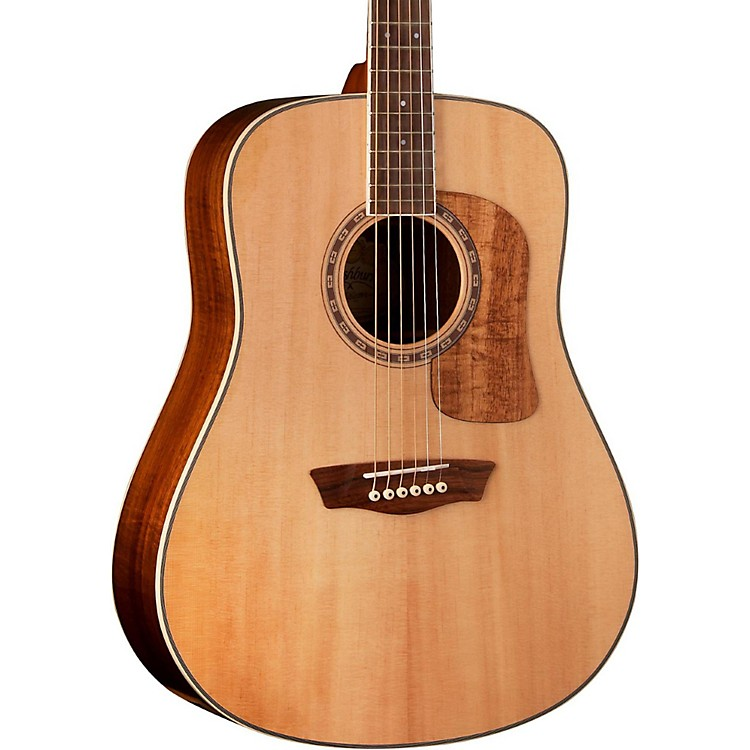 Washburn Woodcraft Series WCSD52S Dreadnought Acoustic Guitar Natural
