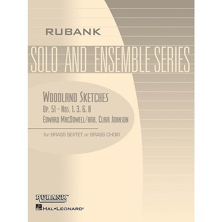 Rubank PublicationsWoodland Sketches, Op. 51 (Brass Sextet or Choir - Grade 2) Rubank Solo/Ensemble Sheet Series