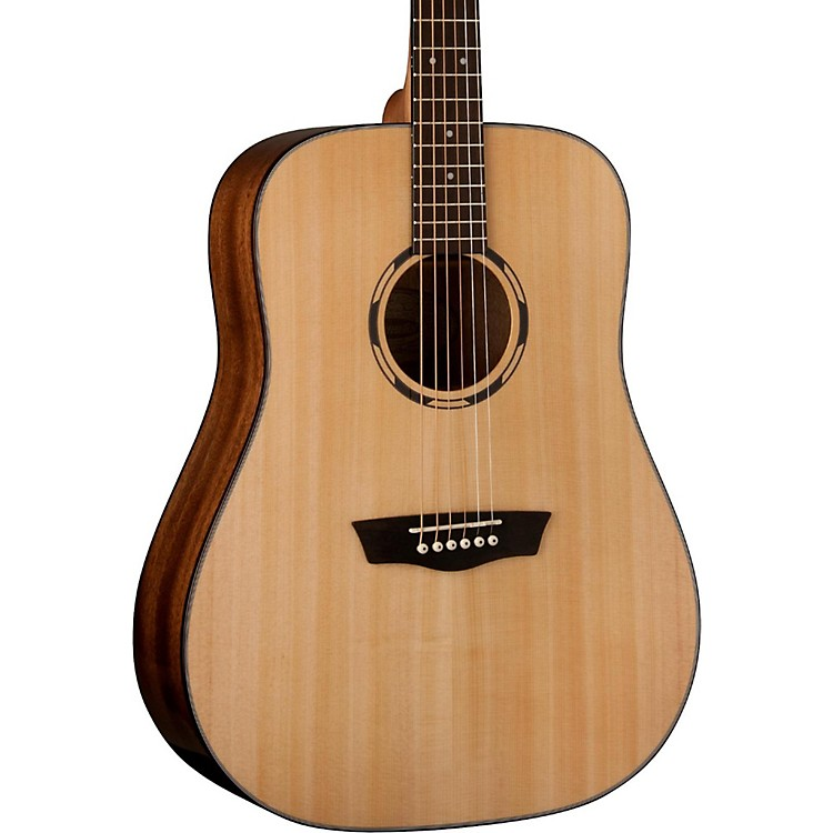 WashburnWoodline 10 Series Acoustic WLD10S Dreadnought Acoustic GuitarNatural