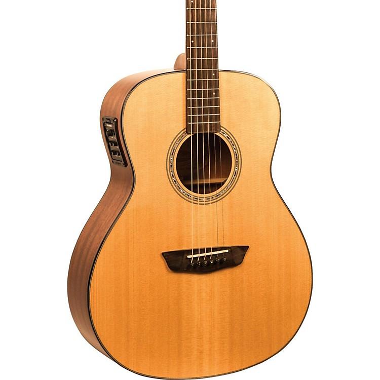 WashburnWoodlline Series WLO100SWEK Orchestra Acoustic-Electric GuitarNatural190839181619