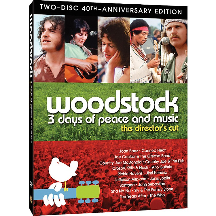 Alfred Woodstock 40th Anniversary Special Edition - 2 DVD Set