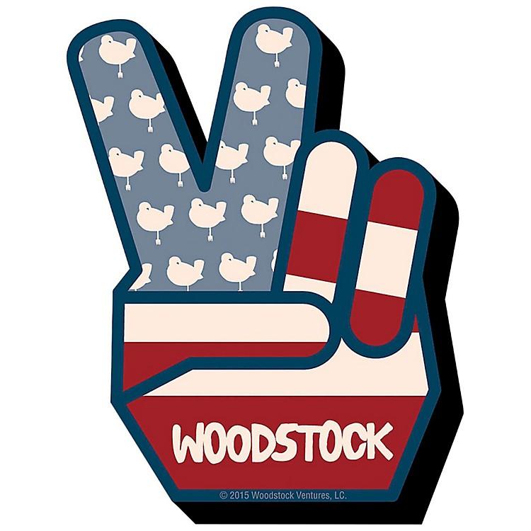 Hal LeonardWoodstock Peace Chunky Magnet