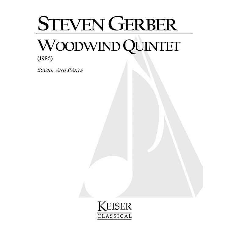 Lauren Keiser Music PublishingWoodwind Quintet LKM Music Series by Steven Gerber