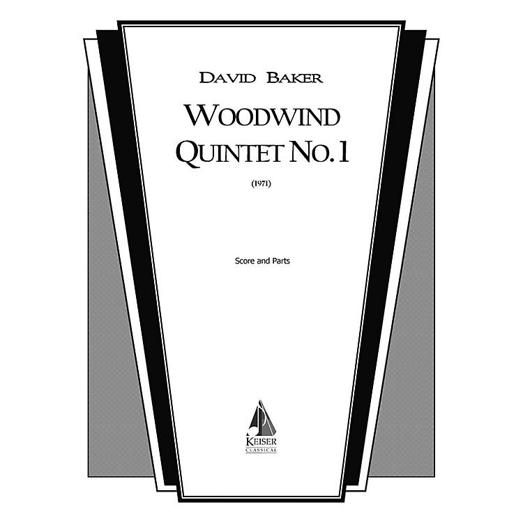 Lauren Keiser Music PublishingWoodwind Quintet No. 1 LKM Music Series by David Baker