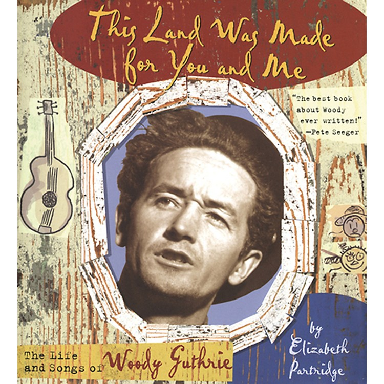 Alfred Woody Guthrie - This Land Was Made for You and Me Hardcover Book