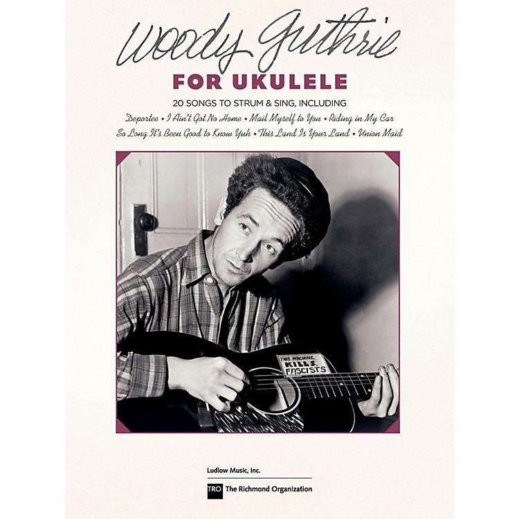 Hal LeonardWoody Guthrie For Ukulele