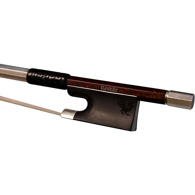 Revelle Woody Series Carbon Fiber Wood Hybrid Violin Bow 4/4 Round