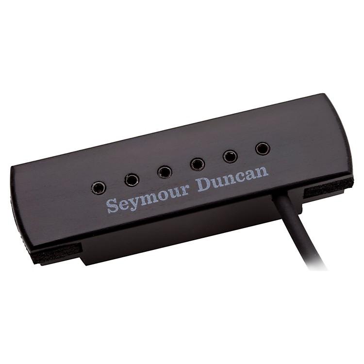Seymour DuncanWoody XL Adjustable Pole Pieces Soundhole PickupBlack