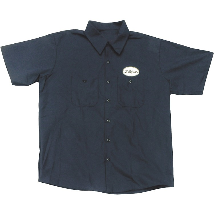 Zildjian Work Shirt Navy Blue Large