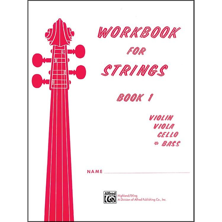 AlfredWorkbook for Strings Book 1 Bass