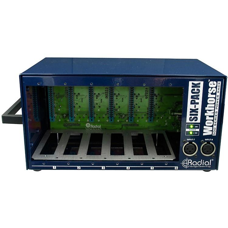 Radial EngineeringWorkhorse - SixPack 500 Series Desktop Rack