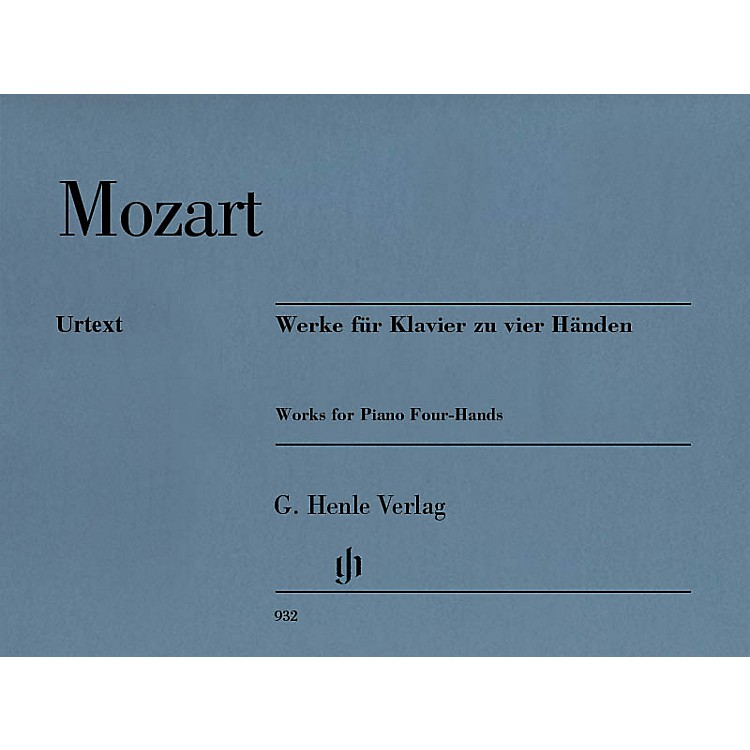 G. Henle VerlagWorks for Piano Four-Hands Henle Music Softcover by Mozart Edited by Peter Jost