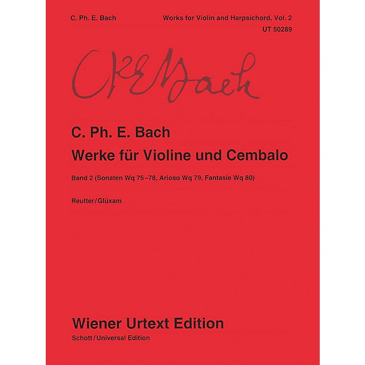 Carl Fischer Works for Violin and Harpsichord Book 2