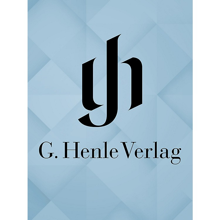 G. Henle Verlag Works for Violoncello and Piano Henle Edition Series Hardcover