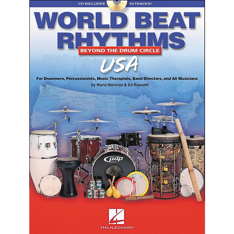 Hal LeonardWorld Beat Rhythms - U.S.A. (Book/CD)