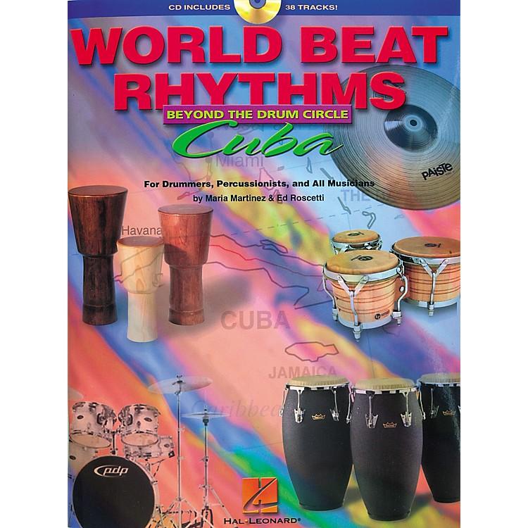 Hal LeonardWorld Beat Rhythms Beyond The Drum Circle - Cuba (Book/CD)
