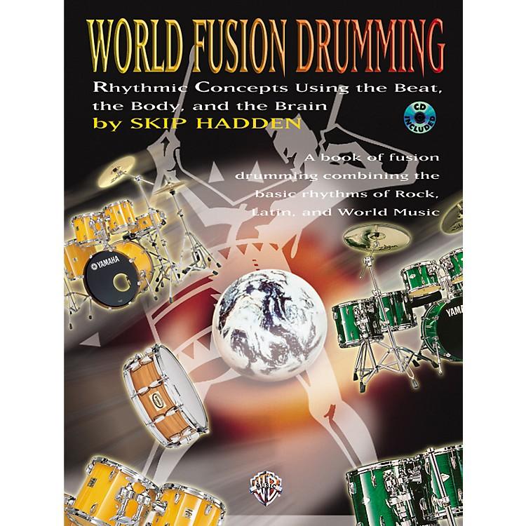 AlfredWorld Fusion Drumming Book/CD