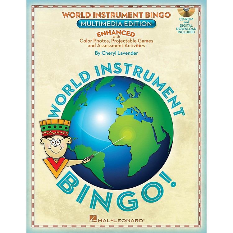 Hal LeonardWorld Instrument Bingo: Digital Edition Teacher CD-ROM Composed by Cheryl Lavender