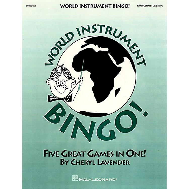 Hal LeonardWorld Instrument Bingo! (Game/Online Audio)