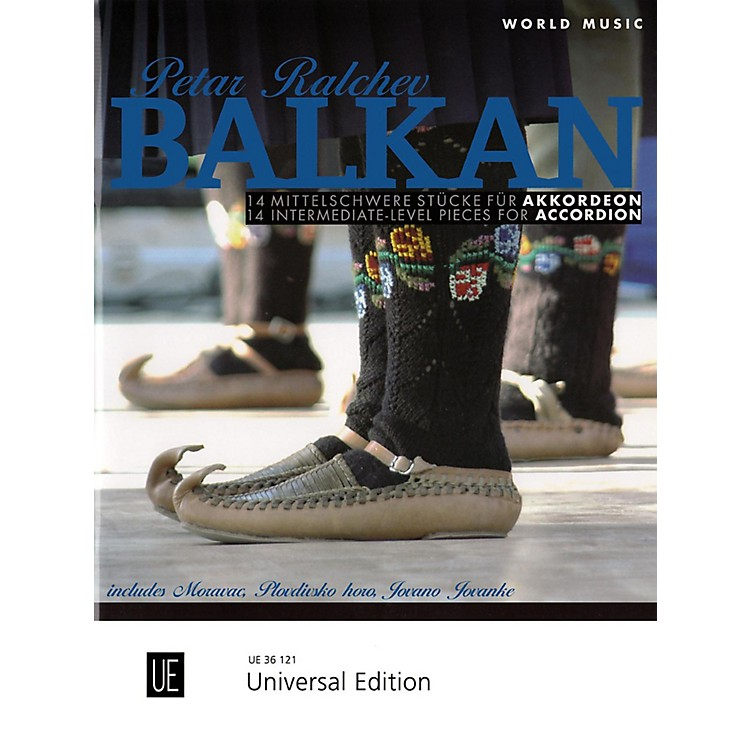 Carl FischerWorld Music Balkan: 14 Intermediate Pieces for Accordion Book