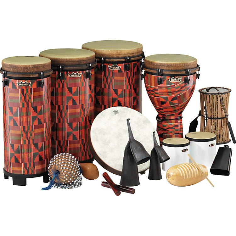 Remo World Music Drumming Packages Package E - 39 Instruments