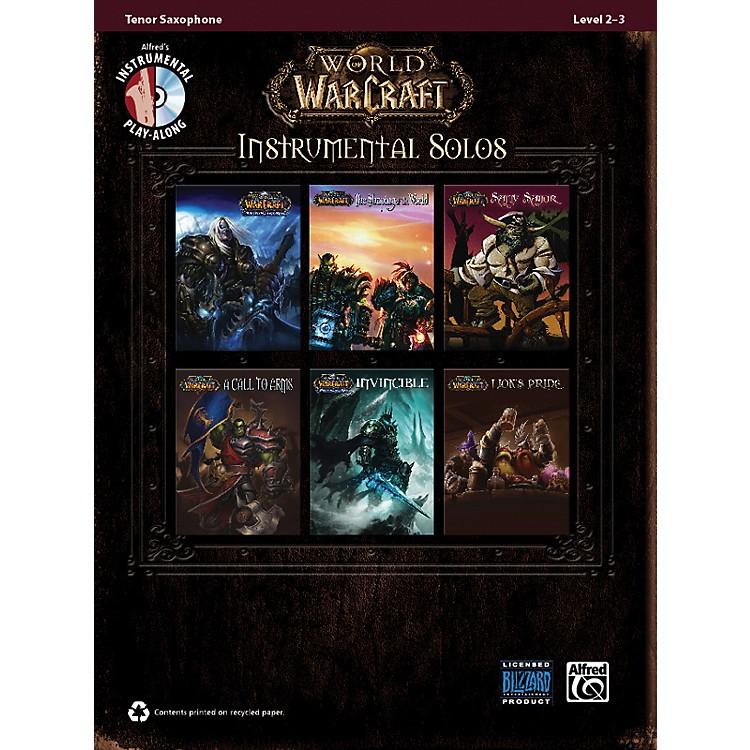 AlfredWorld of Warcraft Instrumental Solos Tenor Sax Book & CD